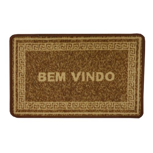 TAPETE BOUCLE BEM VINDO 0,40 X 0,60 - NIAZITEX