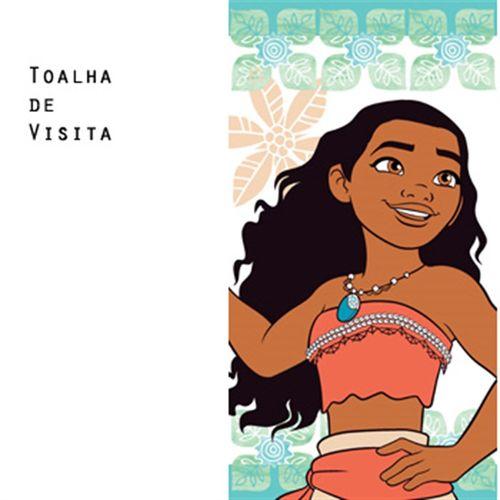 TOALHA DE VISITA DISNEY LIGHT MOANA - SANTISTA