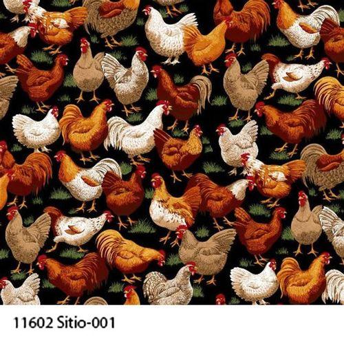 TECIDO TRICOLINE BICHOS 1,00 X 1,40 11602 SITIO 001 - NIAZI