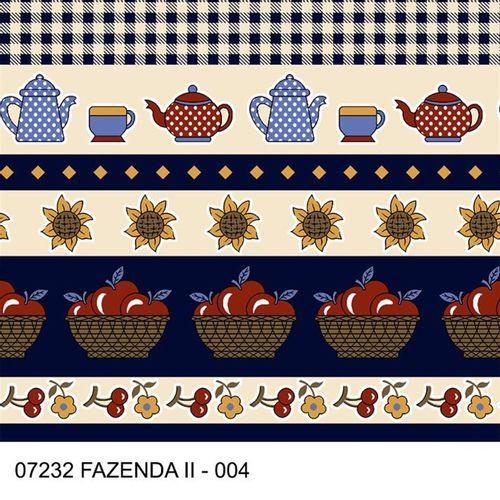 TECIDO TRICOLINE COZINHA 1,00 X 1,40 7232 FAZENDA II 004 - NIAZI