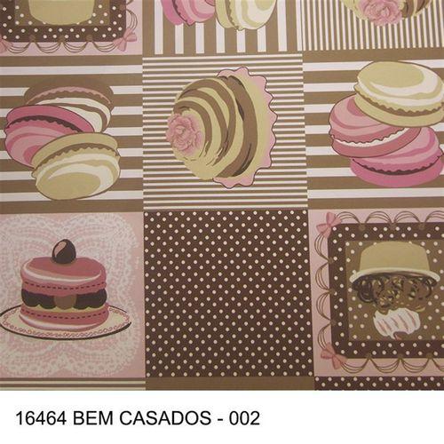 TECIDO TRICOLINE COZINHA 1,00 X 140 16464 BEM CASADOS 002 - NIAZI