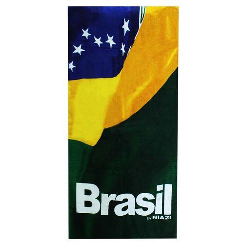 TOALHA DE PRAIA BRASIL 0,70 X 1,50 4210 - NIAZI