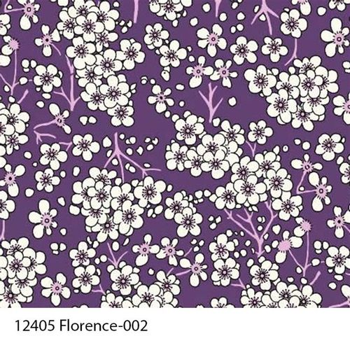 TECIDO TRICOLINE FLORAL 1,00 X 1,40 12405 FLORENCE DES. 002 - NIAZI