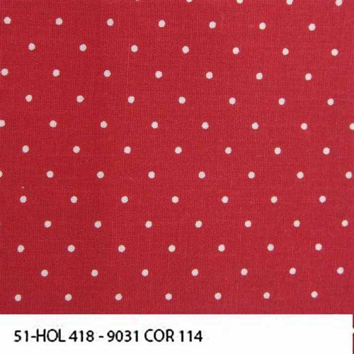 TECIDO TRICOLINE POÁ 1,00 X 1,40 09031 HOL 418 DES. 114 - NIAZI