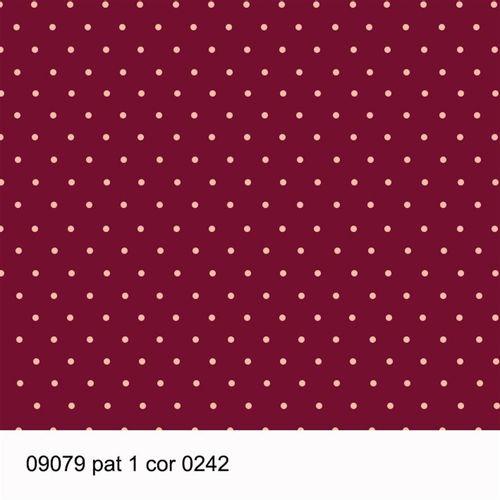 TECIDO TRICOLINE POÁ 1,00 X 1,40 09079 PAT 1 DES. 242 - NIAZI