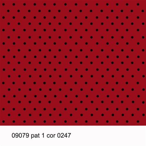 TECIDO TRICOLINE POÁ 1,00 X 1,40 09079 PAT 1 DES. 247 - NIAZI