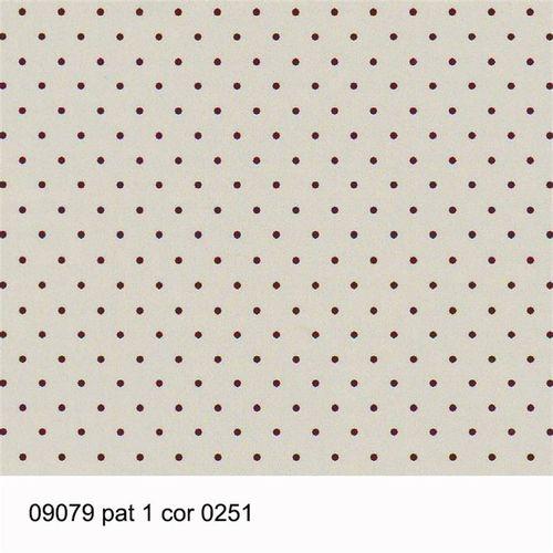 TECIDO TRICOLINE POÁ 1,00 X 1,40 09079 PAT 1 DES. 251 - NIAZI