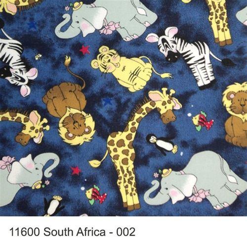 TECIDO TRICOLINE INFANTIL 1,00 X 1,40 11600 SOUTH ÁFRICA DES. 002 - NIAZI