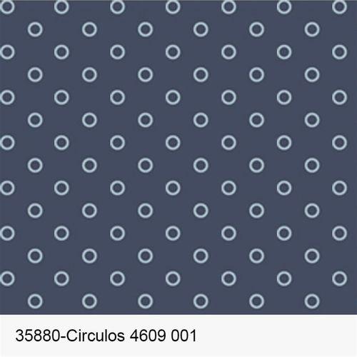 TECIDO TRICOLINE FROU FROU 1,00 X 1,50 35880 CIRCULOS 4609 DES.001 - NIAZI