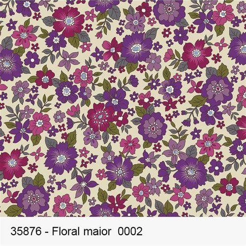 TECIDO TRICOLINE FROU FROU 1,00 X 1,50 35876 FLORAL MAIOR DES. 002 - NIAZI