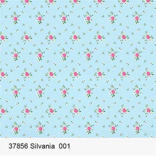 TECIDO TRICOLINE FLORAL 1,00 X 1,50 37856 SILVANIA DES. 001 - NIAZI