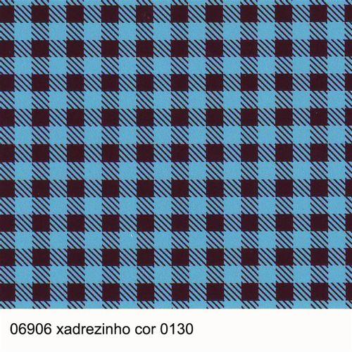 TECIDO TRICOLINE COORDENADOS 1,00 X  1,40 06906 XADREZINHO DESENHO 130 - NIAZI