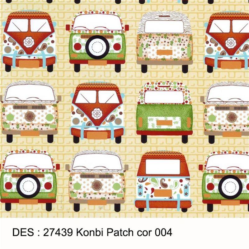 Tecido Tricoline Infantil 1 00 X 1 40 27439 Kombi Patch Des 004