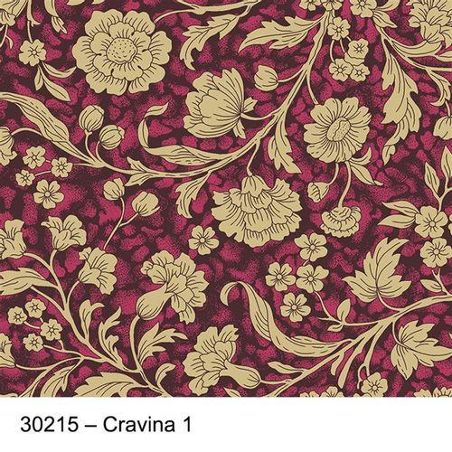 TECIDO TRICOLINE SILK FLORAL 1,00 X 1,50 30215 CRAVINA DES. 001 - NIAZI
