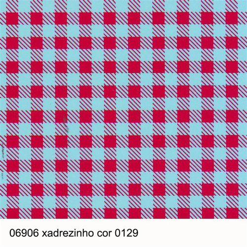 TECIDO TRICOLINE COORDENADOS 1,00 X 1,40 06906  XADREZINHO DESENHO 129 - NIAZI