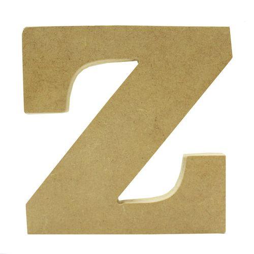 LETRA Z EM MDF 12 CM (756) - NIAZI