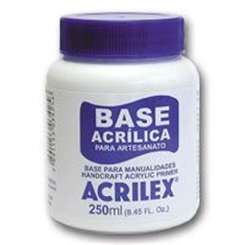 BASE ACRILICA PARA ARTESANATO 250ML - ACRILEX
