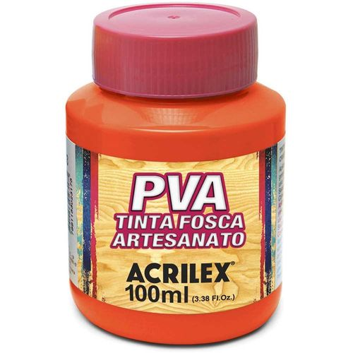 TINTA FOSCA PARA ARTESANATO LARANJA 100ML (032100517) - ACRILEX