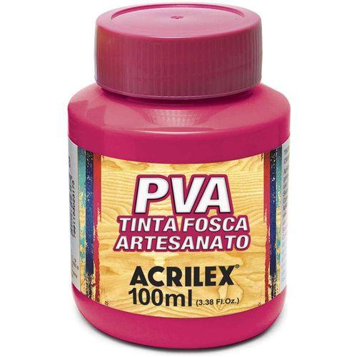 TINTA FOSCA P/ ARTESANATO - 100ML - ROSA ESCURO (032100542)