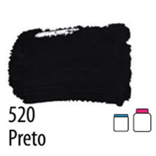 T. FOSCA P/ ARTESANATO 250ML - PRETO (032250520)