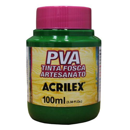 TINTA FOSCA PARA ARTESANATO VERDE MUSGO 100ML (032100513) - ACRILEX