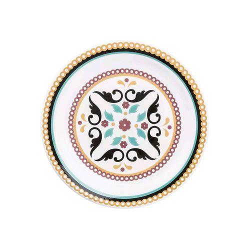 PRATO DE SOBREMESA 20CM FLOREAL LUIZA (J069-6750) - OXFORD
