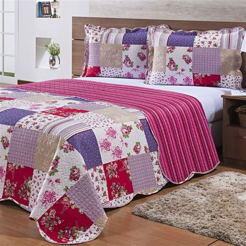 COLCHA ULTRASSONICA RAVELLO QUEEN 2,40 X 2,60 DES. 006 - HOMECLASSICS