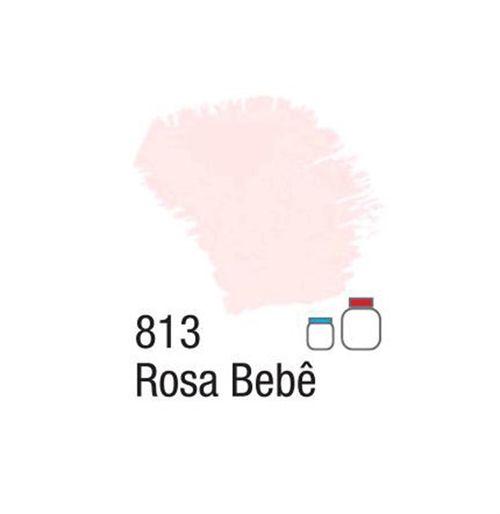 TINTA FOSCA P/ ARTESANATO DE 100ML - ROSA BEBE (32100813)