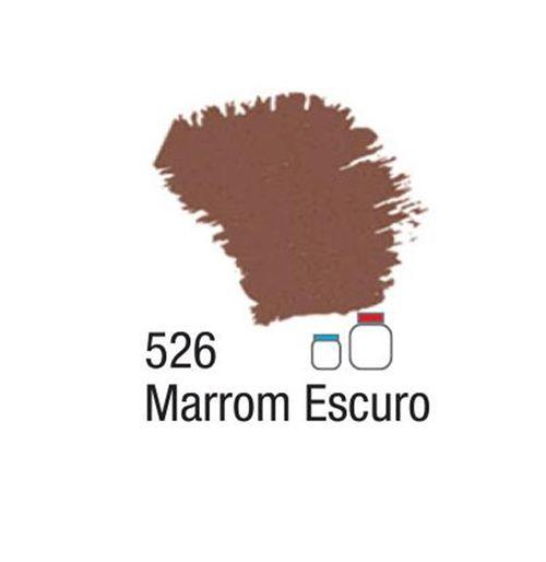 TINTA FOSCA PARA ARTESANATO MARROM ESCURO 250ML (032250526) - ACRILEX