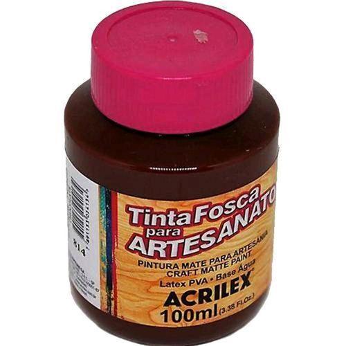 TINTA FOSCA P/ ARTESANATO DE 100ML - CHOCOLATE (32100814)
