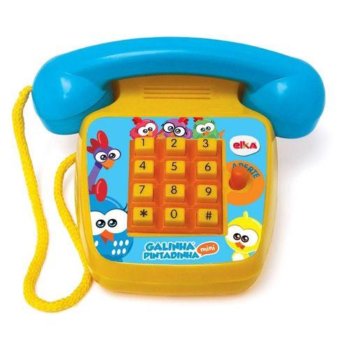 TELEFONE SONORO GALINHA PINTADINHA MINI (1087) - ELKA