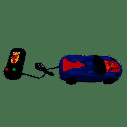 CARRO CONTROLE COM FIO SPIDERMAN (DY-001) - ETITOYS