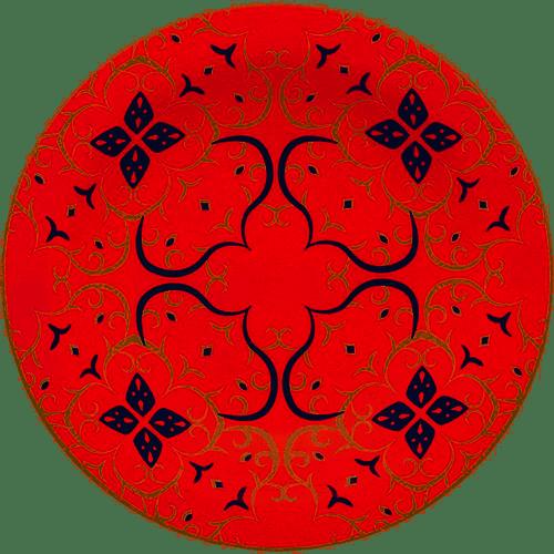 PRATO FUNDO 23 CM  FLOREAL HANA (J067-6809) - OXFORD