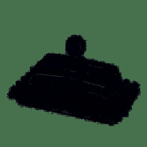MANTEGUEIRA DE CRISTAL DOTS - ROJEMAC