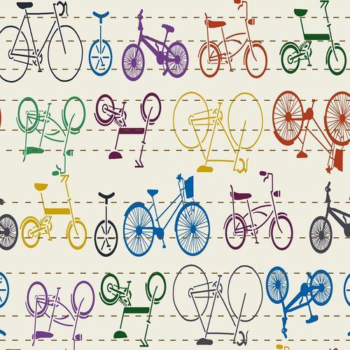 TECIDO TRICOLINE 1,00X1,50 35298 BICYCLE 01 -  NIAZI