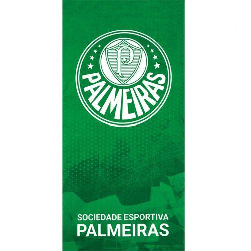 TOALHA PRAIA VELOUR CLUBE PALMEIRAS 06 70X140 - DOHLER