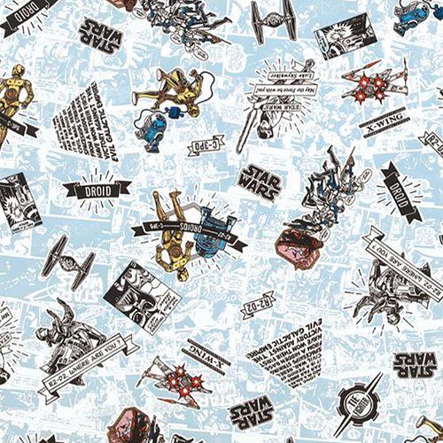 TECIDO DECORAÇÃO BELIZE EST STAR WARS13 23329 63-A 1,40m LARG REPELENTE - DOHLER