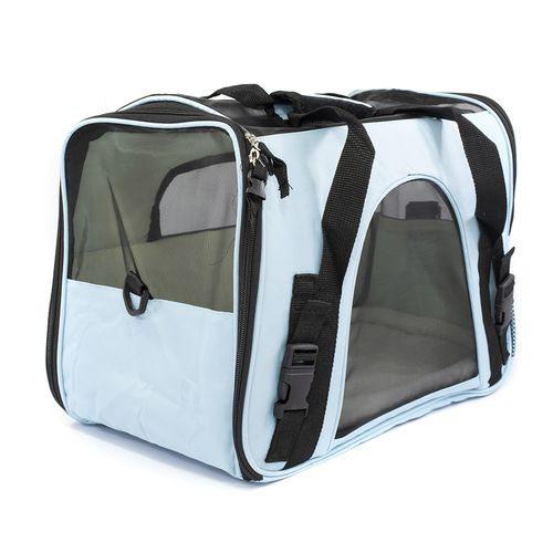 BOLSA TRANSPORTE GDE THE DOG S BAG AZUL (10672) - THE PETS BRASIL