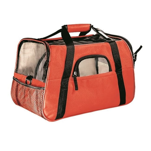 BOLSA TRANSPORTE GDE THE DOGS BAG VERM (10674) - THE PETS BRASIL