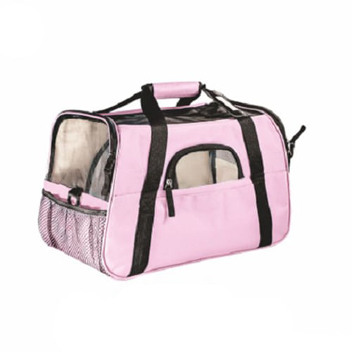 BOLSA TRANSPORTE GDE THE DOGS BAG ROSA (10673) - THE PETS BRASIL