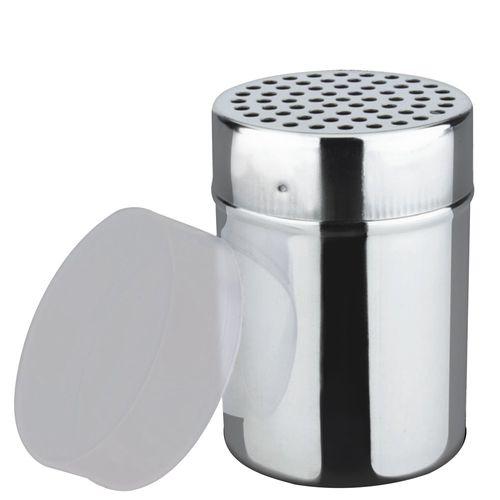 PORTA QUEIJO INOX C/ TAMPA PLASTICA 6X8CM  - HOMECOOK