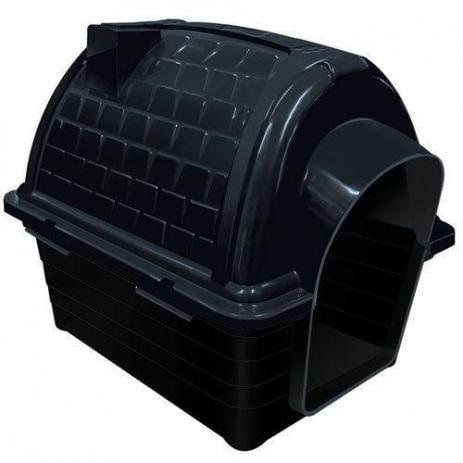 CASINHA PLAST. IGLU N3,0 - BLACK 0886 - FURACÃO PET