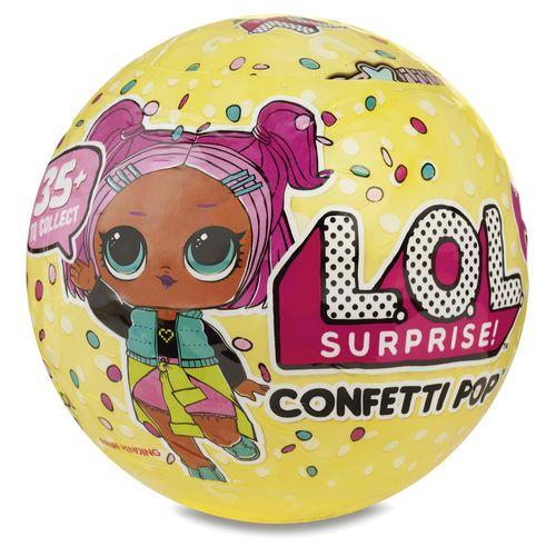 BONECA LOL - CONFETTI POP - 9 SURPRESAS (8906)