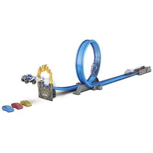 PISTA METAL MACHINES - ROAD RAMPAGE COR/AZUL/VERD/CINZ (8701)