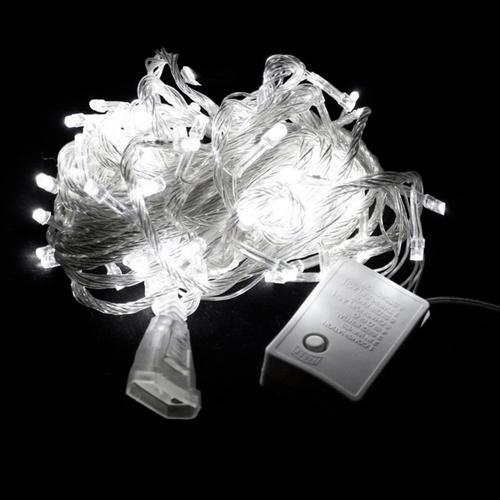 PISCA LED 100L BRANCO 127V 8F FIO TRANSPARENTE (NTL2100B127V)
