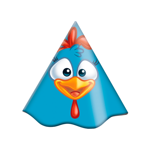 CHAPEU GALINHA PINTADINHA 2018 12X08 (105679)