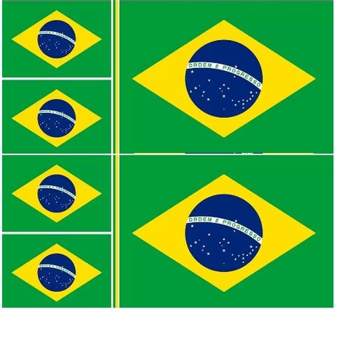 TECIDO BANDEIRA DO BRASIL NIAZI LG1,50 X 1,20 DES 02